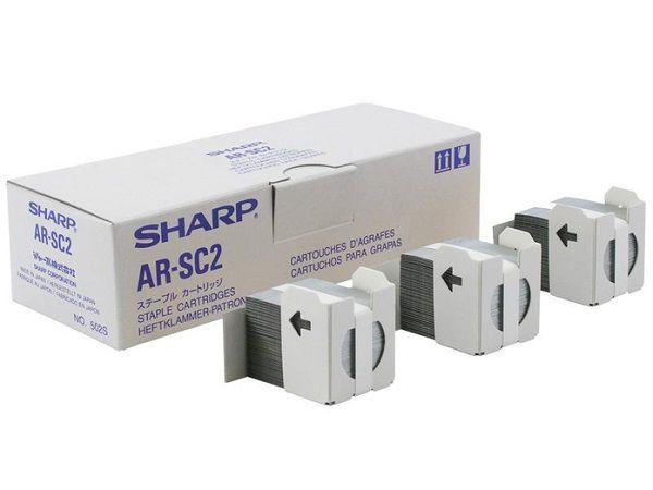 AR-SC2 / ARSC2 CARTUCHO DE GRAMPOS ORIGINAIS PARA SHARP MX-2300N /  MX-2700N / MX-4111N / ARC260M / ARP350  E SERIES