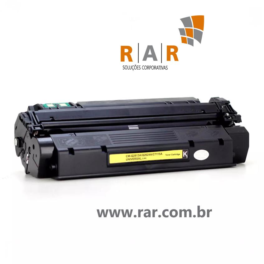 C7115A / Q2613A - CARTUCHO DE TONER NOVO COMPATÍVEL PARA HP LASERJET 1000 / 1005 E SERIES