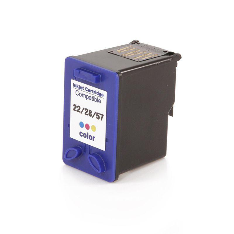 Tinta Colorido HP C9352A | 22XL | 28XL | 57XL -  Compatível