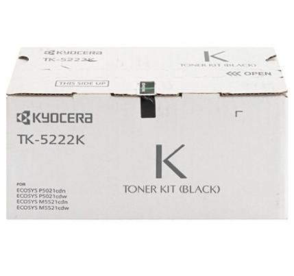 Cartucho Toner Original Kyocera - TK-5222K | P5021CDN / M5521CDN
