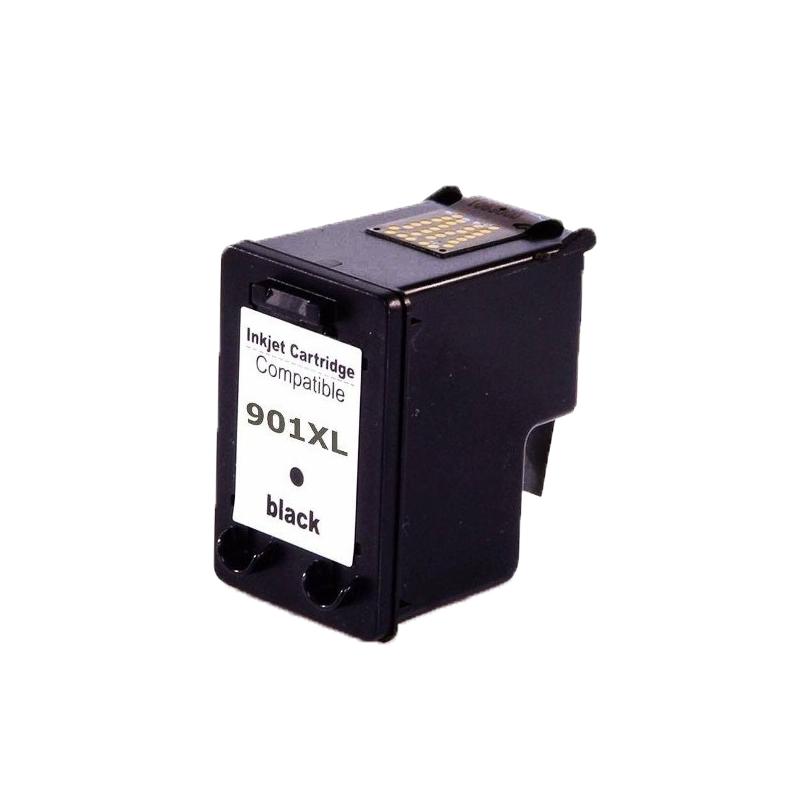 CC654AB | 901XL - Cartucho de Tinta Preto Compatível - Para uso em HP OfficeJet Séries