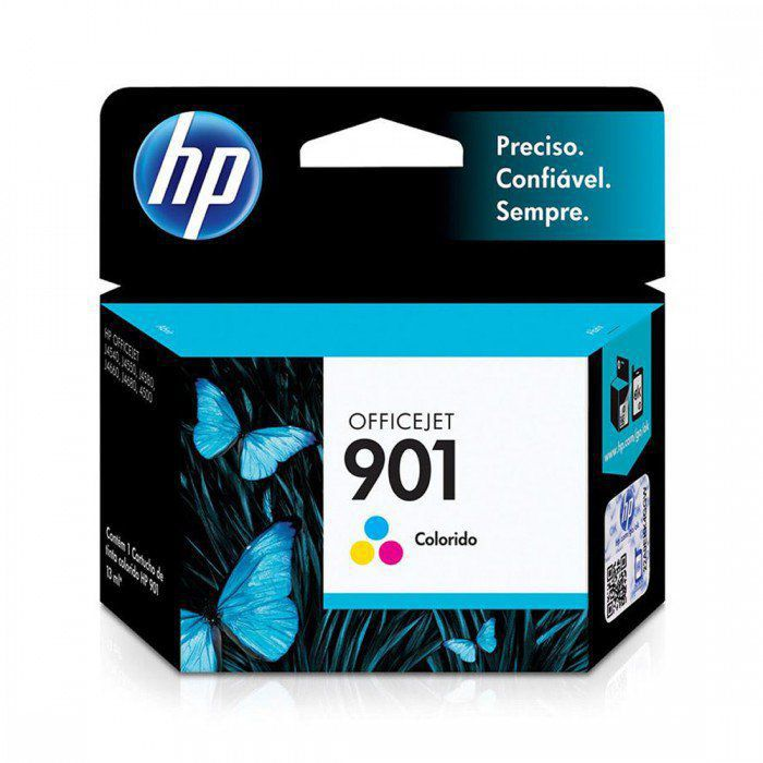 Tinta Original OFFICEJET HP 901, CC656AB, COLORIDOS | J4550, J4540, J4660, J4580, J4680