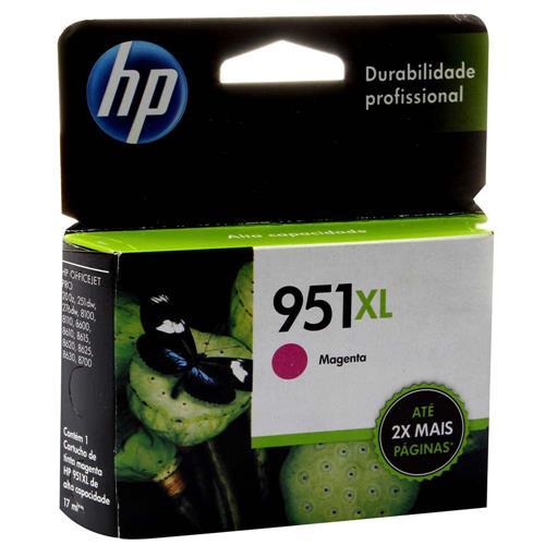 Tinta Original HP 951XL, 951, MAGENTA, CN047AL   8610, 8620, 8100, 8600 PLUS, 8630