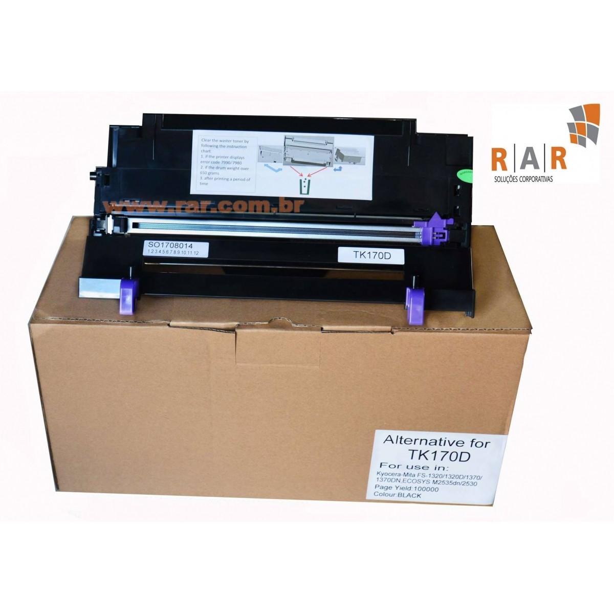 DK170 / DK-170 / 302LZ93061 / 302LZ93060  - UNIDADE DE IMAGEM COMPATIVEL NOVA PARA  KYOCERA KM2810 / KM2820/ FS1035 /ECOSYS M2035/M2535 E SERIES