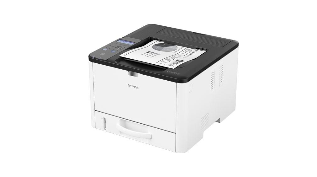 Impressora Ricoh SP3710DN | Laser Mono com rede ethernet e duplex