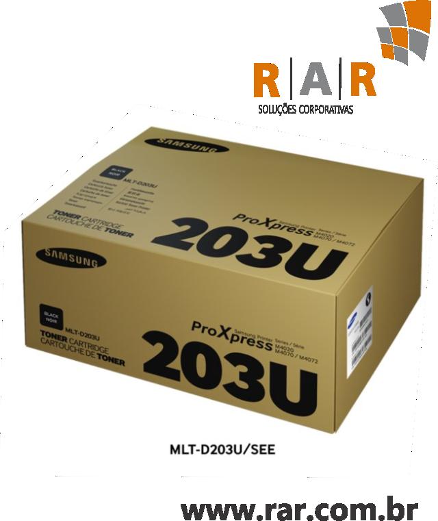MLT-D203U (MLTD203U) - CARTUCHO DE TONER PRETO ORIGINAL PARA SAMSUNG PRO XPRESS SL-M4020ND / SL-M4070FR