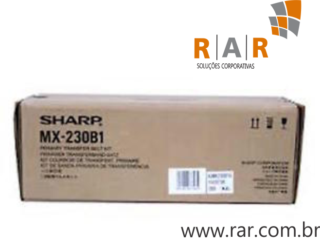 MX230B1 (MX-230B1) - KIT DE TRANSFERÊNCIA PRIMARIA ORIGINAL PARA SHARP MX-2310U / MX-2010 E SERIES