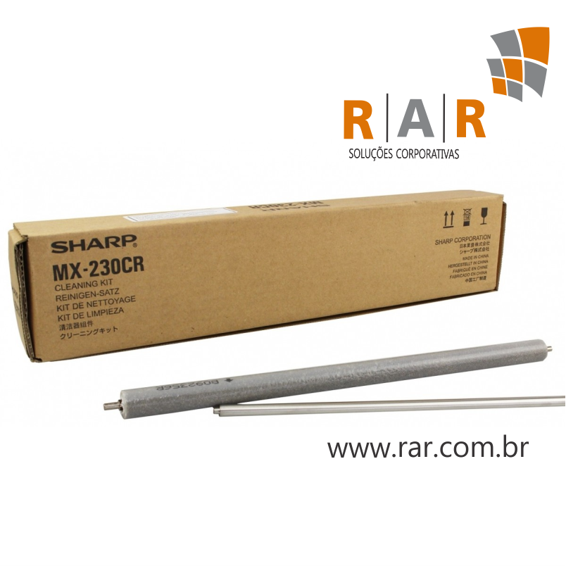MX230CR - KIT DE ROLO DE LIMPEZA  ORIGINAL PARA SHARP MX-2310U / MX-2010 E SERIES