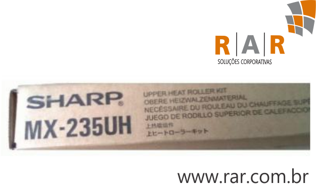MX235UH - ROLO FUSOR SUPERIOR ORIGINAL PARA SHARP MX-M202D E SERIES