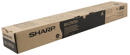 MX27NTBA TONER PRETO ORIGINAL DO FABRICANTE PARA SHARP MX-2300N, MX-2700N