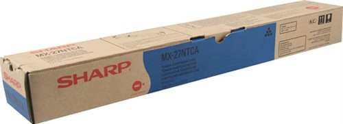 MX27NTCA TONER CYAN ORIGINAL DO FABRICANTE PARA SHARP PARA MX-2300N, MX-2700N