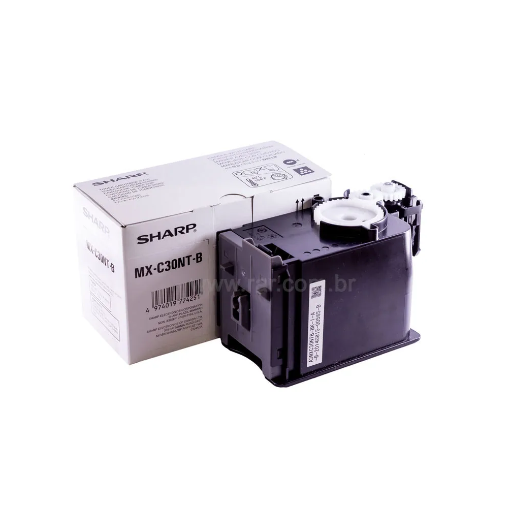 MXC30NTB | MX-C30NTB - Cartucho de Toner Preto Compatível Katun Performance - Para uso em Sharp MX-C250 | MX-C300W