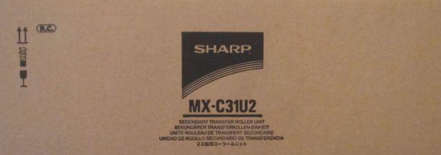 MXC31U2 - UNIDADE DE CORREIA DE TRANSFERÊNCIA SECUNDÁRIO ORIGINAL SHARP MX-C381 E SERIES