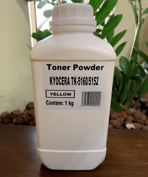 Refil de Toner Amarelo 1KG Compatível Kyocera | TK-5160 / TK-5152