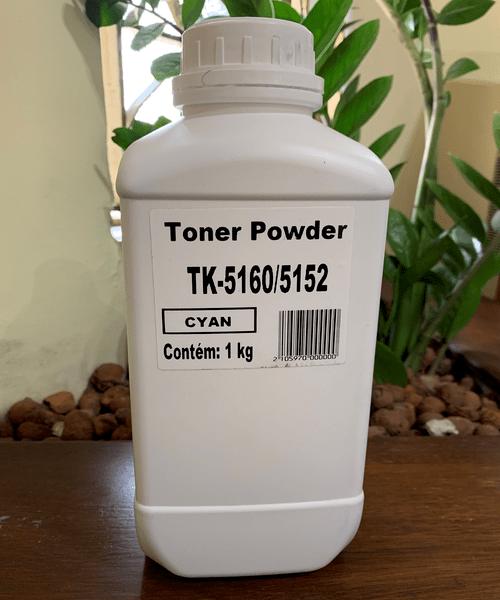 Refil de Toner Ciano 1KG Compatível Kyocera | TK-5160 / TK-5152