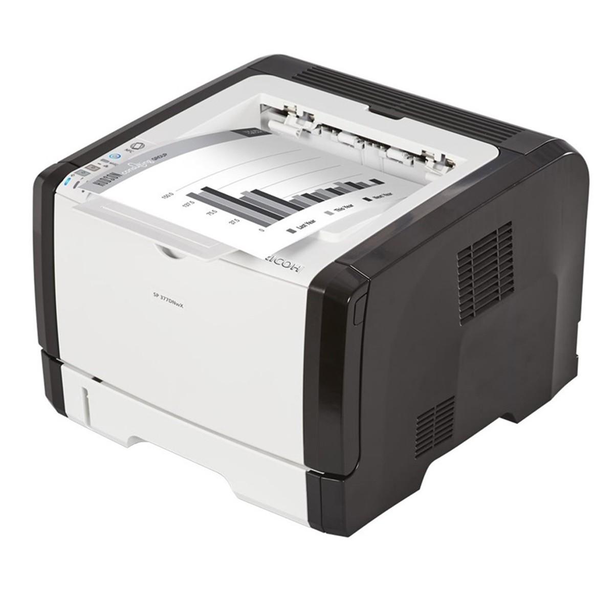 RICOH SP 377SDNWX| Impressora Laser Monocromática 30 PPM
