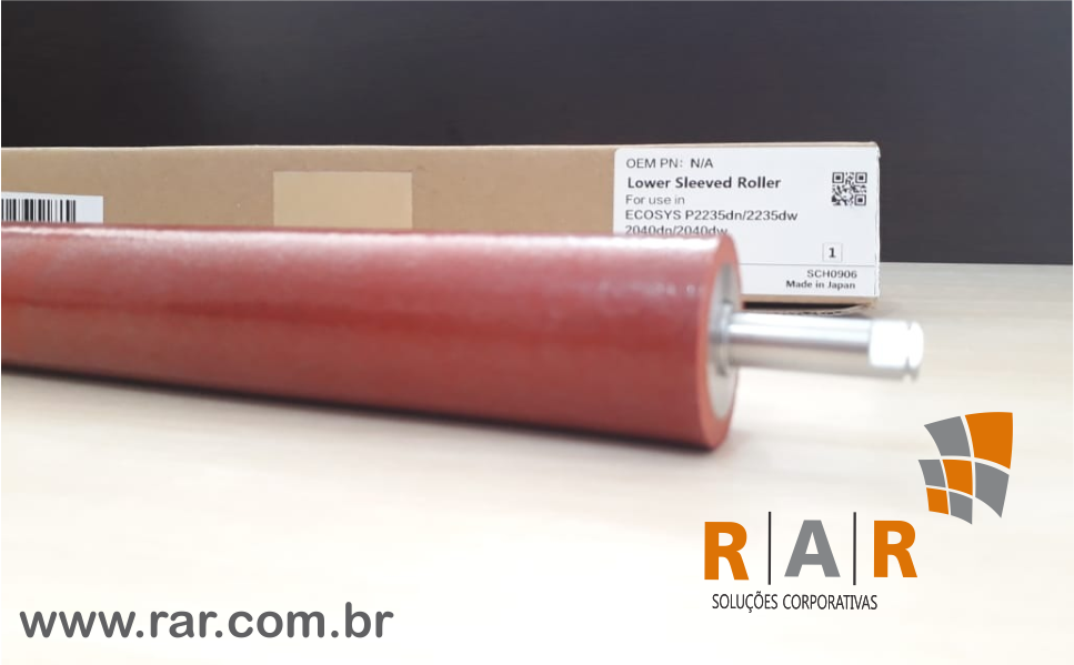 ROLO DE PRESSÃO KYOCERA COMPATÍVEL NOVO  PARA FK1152, ECOSYS M2040/2540/2640/P2235 E SERIES