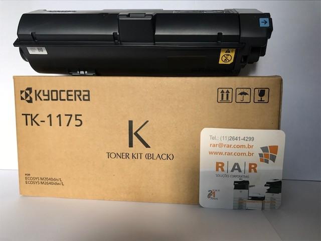 TK1175 (TK-1175) CARTUCHO DE TONER ORIGINAL DO FABRICANTE KYOCERA PARA USO EM ECOSYS M2040DN E SERIES