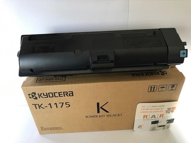 TK1175 (TK-1175) CARTUCHO DE TONER ORIGINAL DO FABRICANTE KYOCERA PARA USO EM ECOSYS M2040DN M2040 M2540 M2640 M2040DN M2540DN M2640IDW