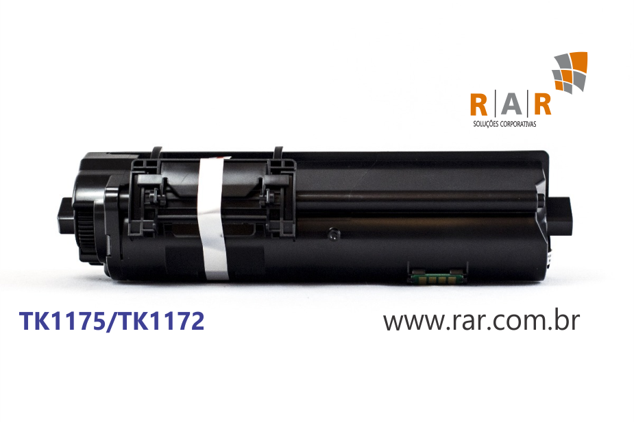 TK1175 / TK1172 (TK-1175 / TK-1172) - CARTUCHO DE TONER PRETO COMPATIVEL 100% NOVO P/ KYOCERA ECOSYS M-2040DN M2540 M2640 M2040DN M2540DN M2640IDW