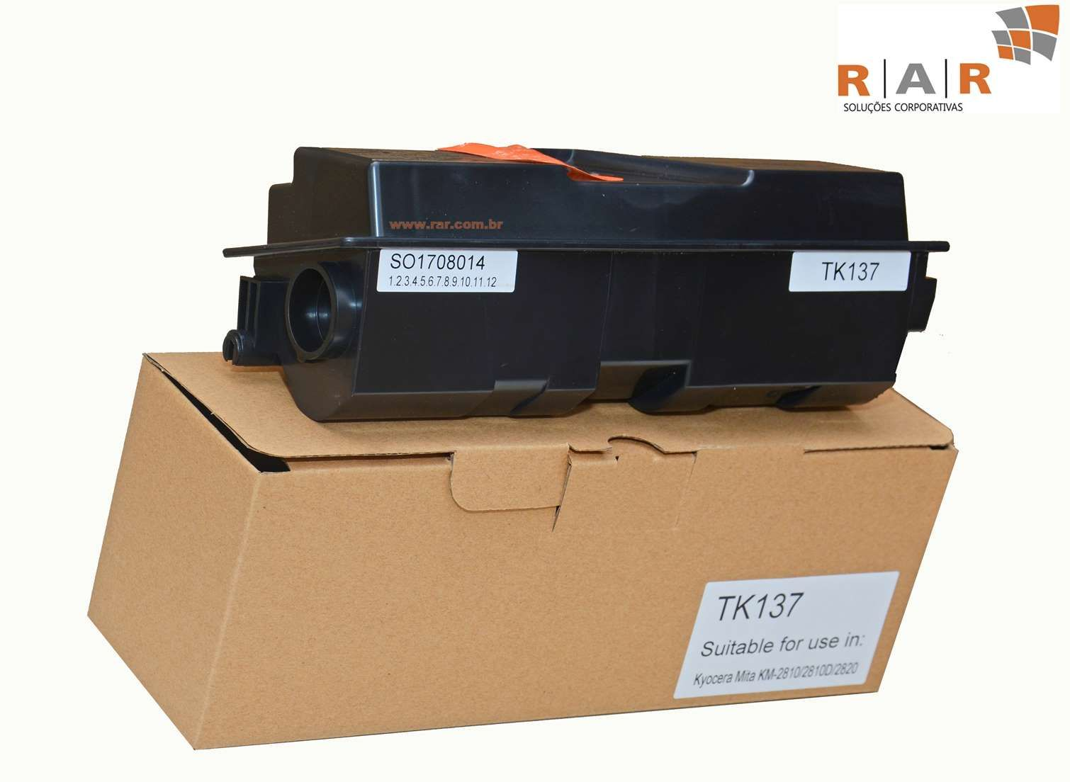 TK137 (TK-137) CARTUCHO DE TONER COMPATIVEL NOVO PARA KYOCERA KM-2810 / KM-2820