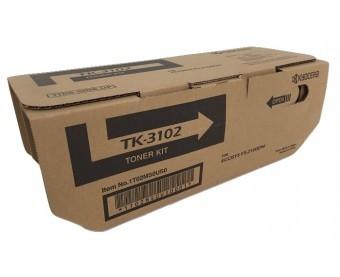 TK3102 / TK-3102 / 1T02MS0US0 - CARTUCHO DE TONER PRETO ORIGINAL DO FABRICANTE KYOCERA PARA ECOSYS M3040IDN E SERIES