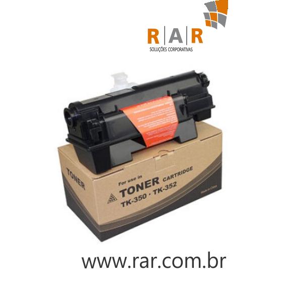 TK352 - CARTUCHO DE  TONER PRETO COMPATÍVEL NOVO PARA KYOCERA FS-3040MFP / FS-3540MFP