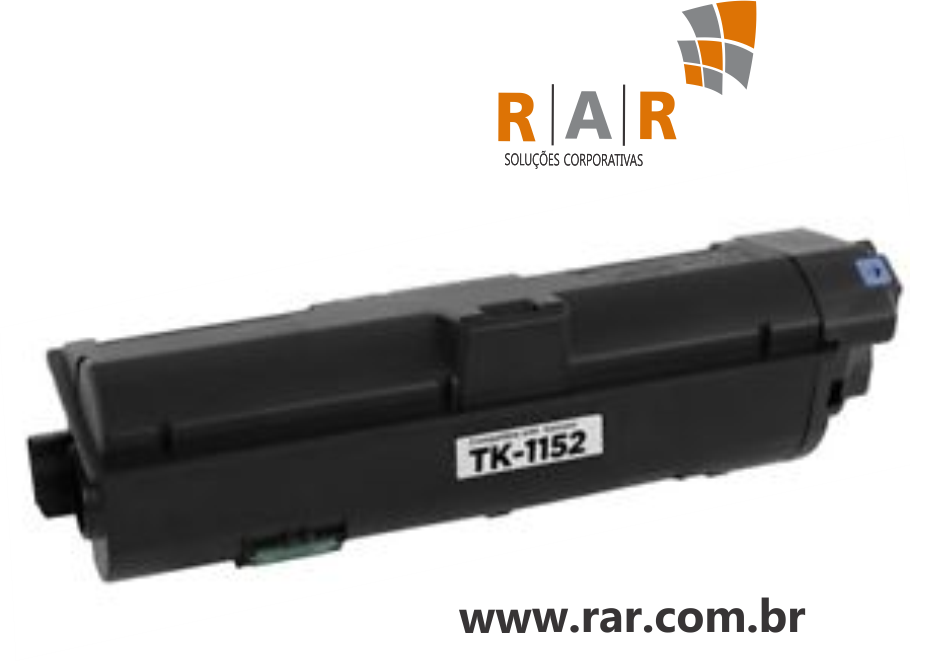 TK-1152 (TK1152)  - CARTUCHO DE TONER PRETO COMPATÍVEL 100% NOVO P/ KYOCERA ECOSYS P2235DN / P2135DN E SERIES