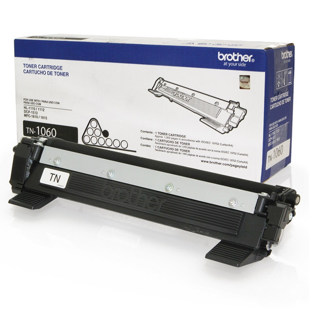TN1060 - CARTUCHO DE TONER PRETO ORIGINAL PARA BROTHER DCP-1602 / DCP-1512 E SERIES