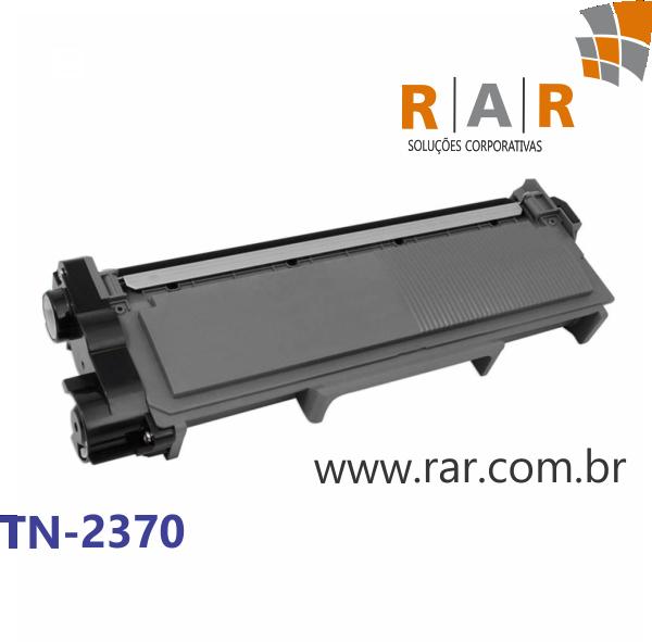 TN2370 / TN2340 / TN660 / TN630 - CARTUCHO DE TONER PRETO COMPATÍVEL 100% NOVO PARA BROTHER HL-L2360DW, HL-L2320D