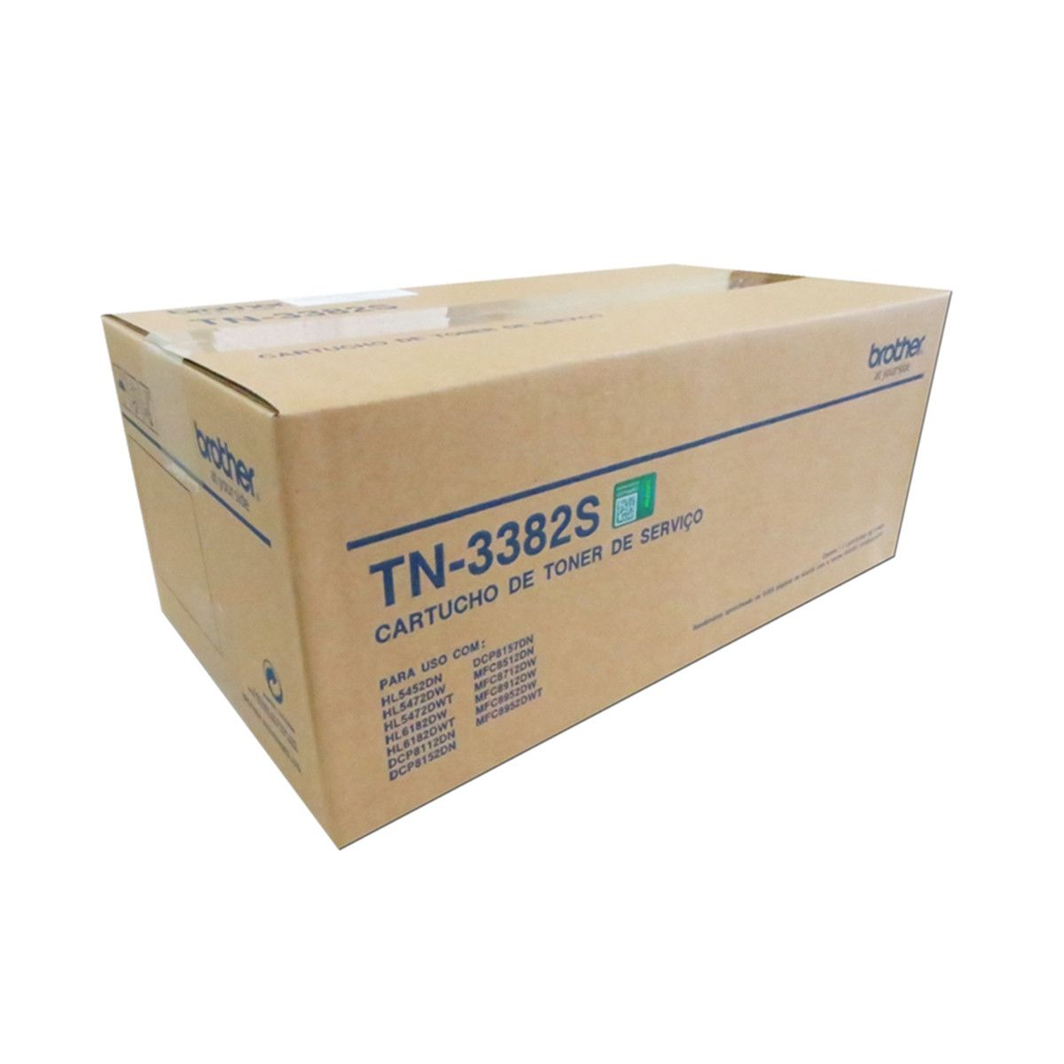 TN-3382S (TN3382S) - CARTUCHO DE TONER ORIGINAL PARA BROTHER DCP-8157DN E SERIES