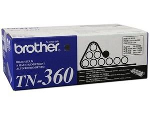 TN-360 (TN-360) - CARTUCHO DE TONER ORIGINAL PARA BROTHER DCP7030 DCP7040 HL2140 HL2150 MFC7320 MFC7840