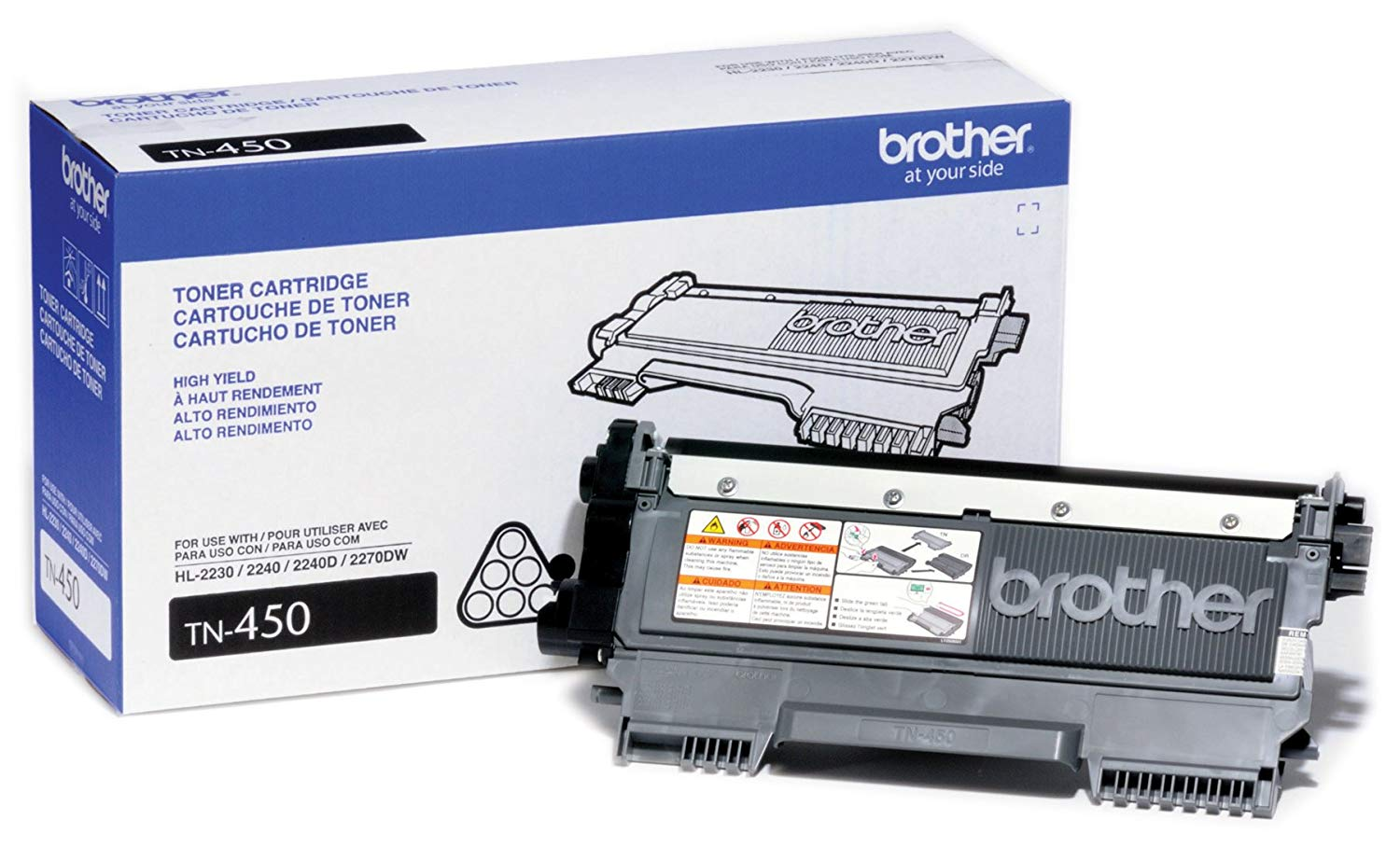 Toner Original BROTHER TN450, TN-450 | DCP7065DN, HL2240, HL2270DW, MFC7360N, MFC7860DW