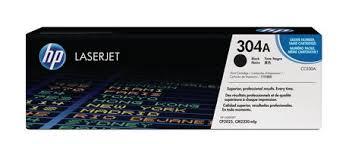 CC530A, 304A - CARTUCHO DE TONER PRETO ORIGINAL DO FABRICANTE PARA HP CP2025DN, CM2320N