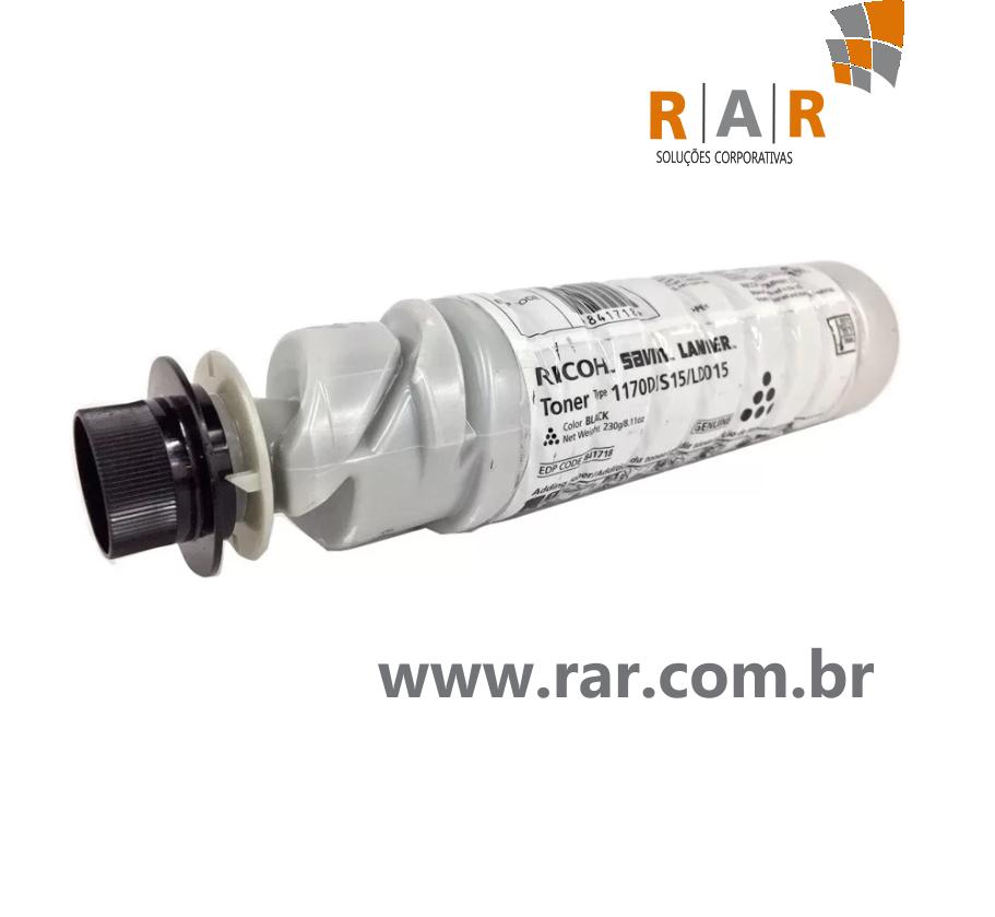 TONER RICOH COMPATIVEL PARA AFICIO 1170D/MP171/MP201
