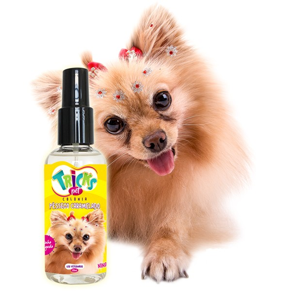 Colônia Pêssego Caramelado - Tricks Pet 120ml