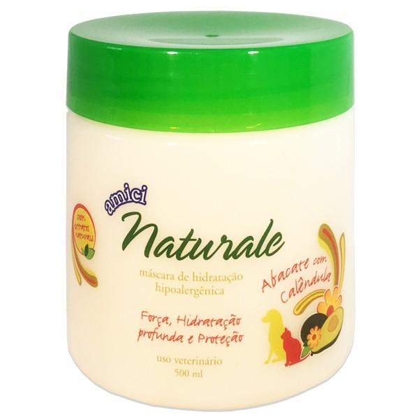 Máscara de Hidratação Abacate com Calêndula - Amici Naturale 500ml