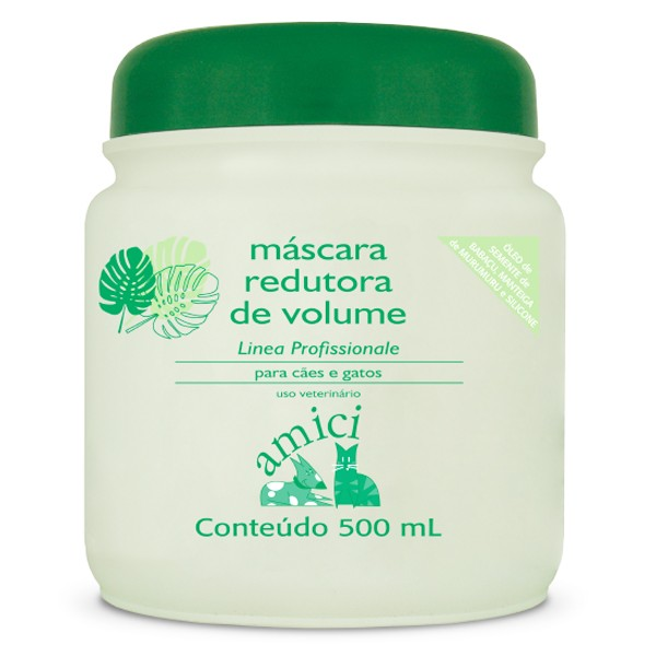 Máscara de Hidratação Profunda - Amici 500ml