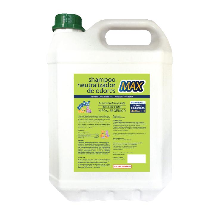 Shampoo Neutralizador de Odores MAX Linea Profissionale