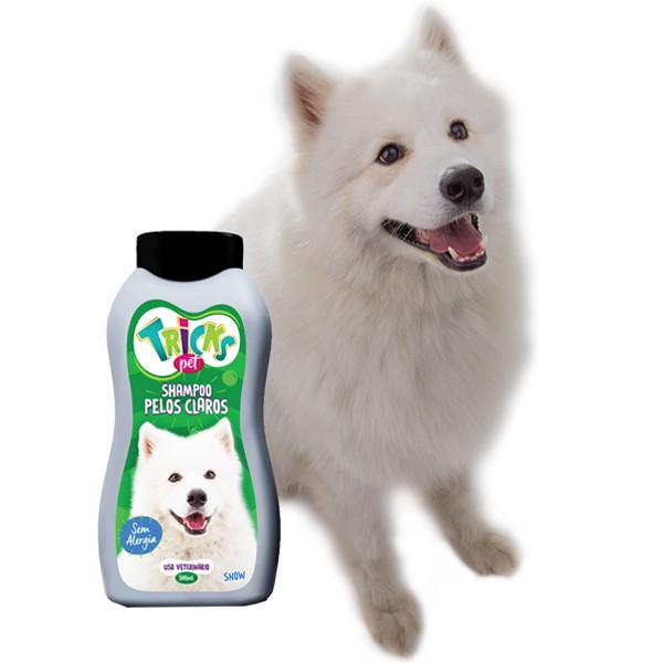 Shampoo Pelos Claros - Tricks Pet 500ml