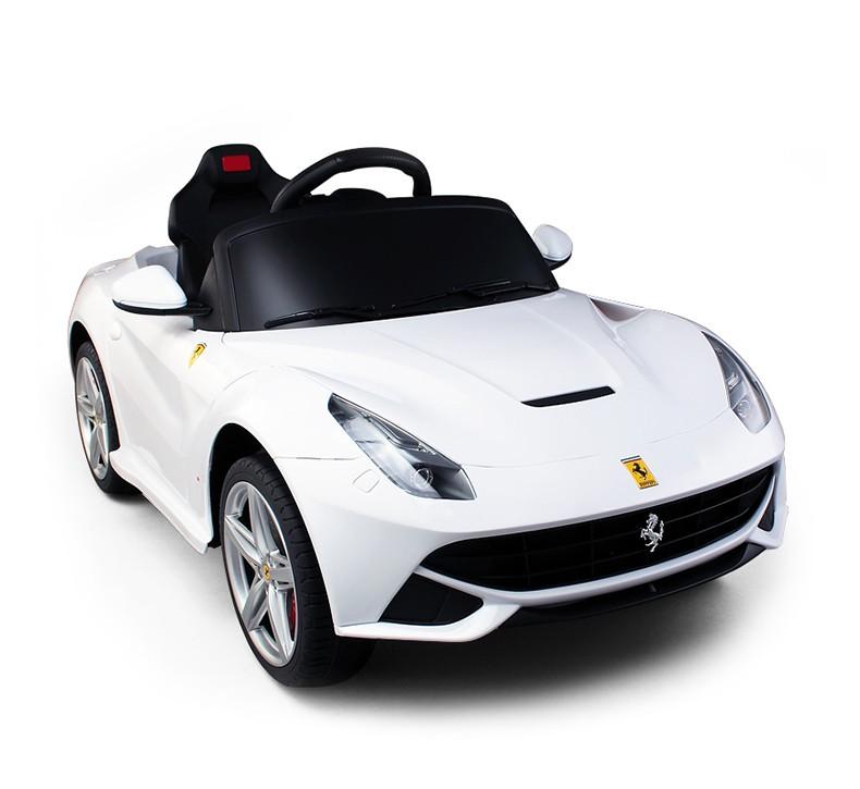 Mini Carro El 233 Trico Ferrari F12 Branco Bb Motors