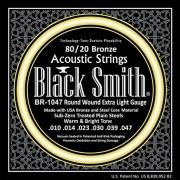 Encordoamento Violão 0.10 Black Smith