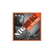 Encordoamento Guitarra NIG RF-50 0.9 Roger Franco Signature