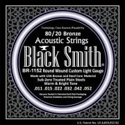 Encordoamento Violão 0.11 Black Smith