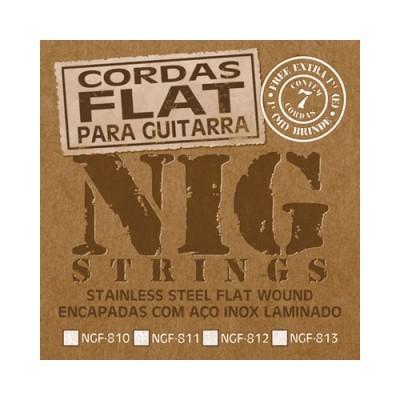 Encordoamento Flat Nig 0.10 NGF-810 (Lisas)