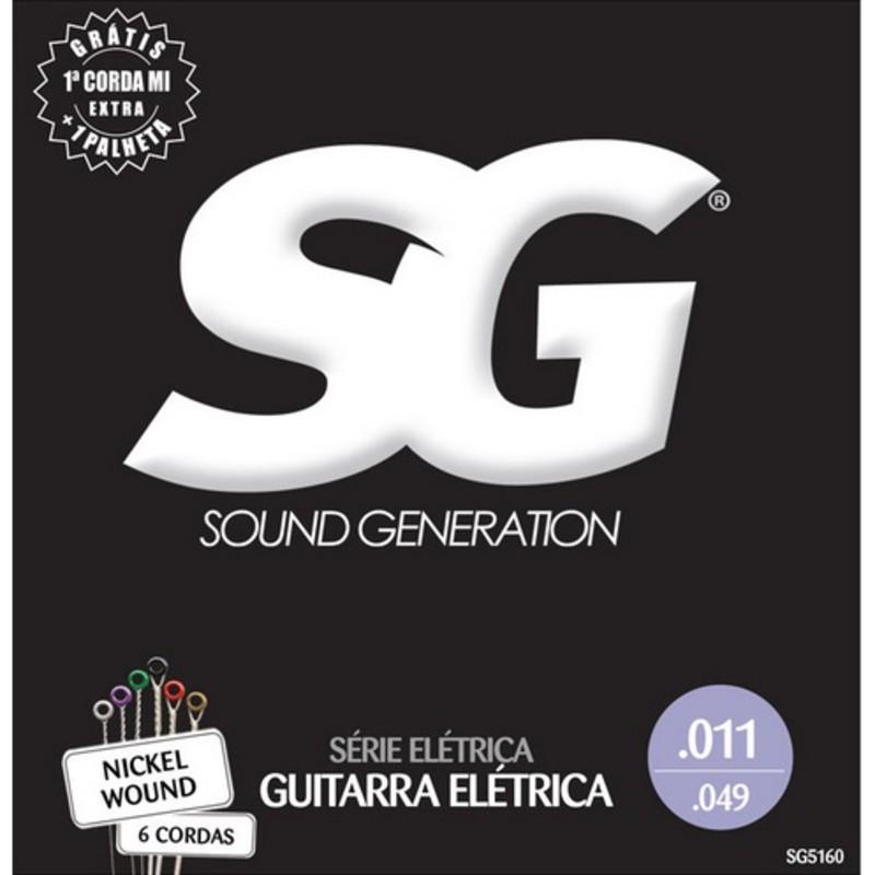 Encordoamento Guitarra SG 0.11