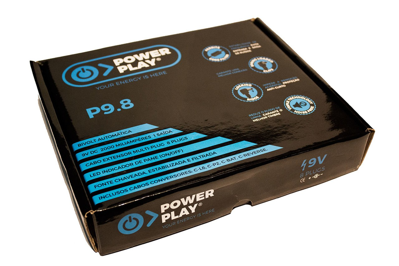 Fonte Pedais Power Play P9.8