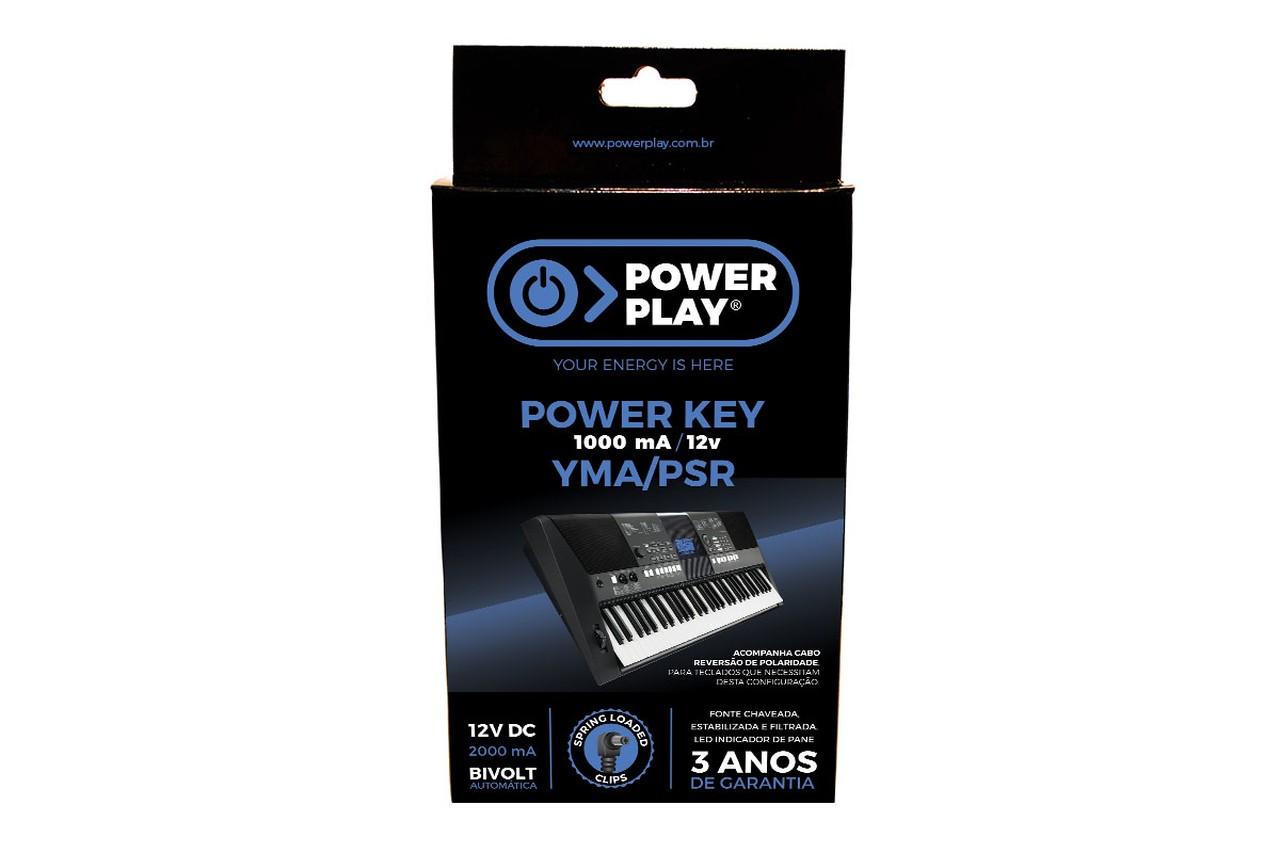 Fonte Teclado Power Play Power Key YMA/PSR