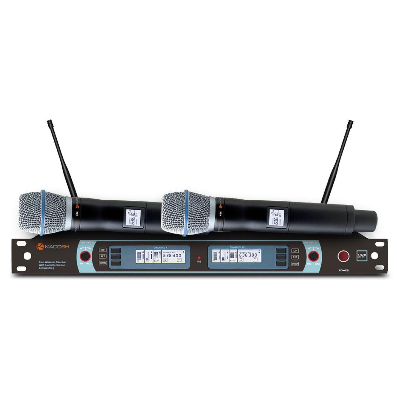 Microfone S/fio Kadosh K-882M
