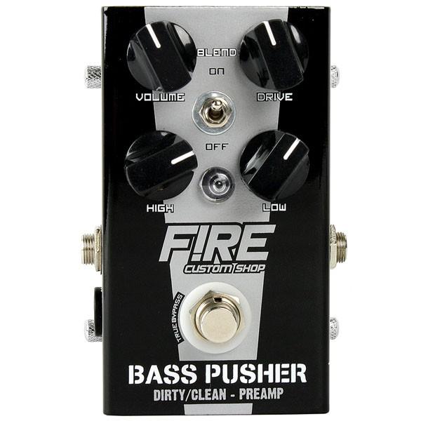 Pedal Bass Pusher Fire Custom